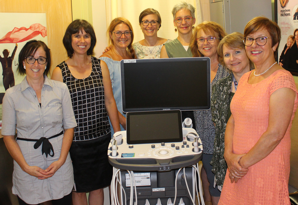 Echographe mammaire Hopital de Granby Fondation du Centre hospitalier de Granby