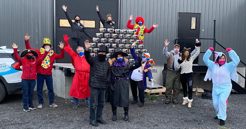 Fin campagne Halloween Fondation CHG Maître Glacier