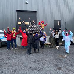 Campagne Halloween Fondation du CHG